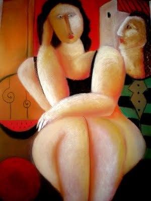 Mujer-sentada-y-hombre-que-mira-a18251564