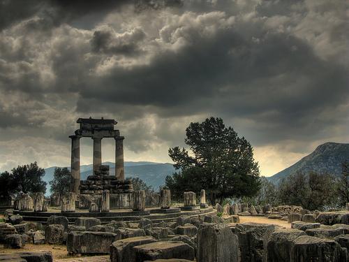 Templo-atenea-delfos