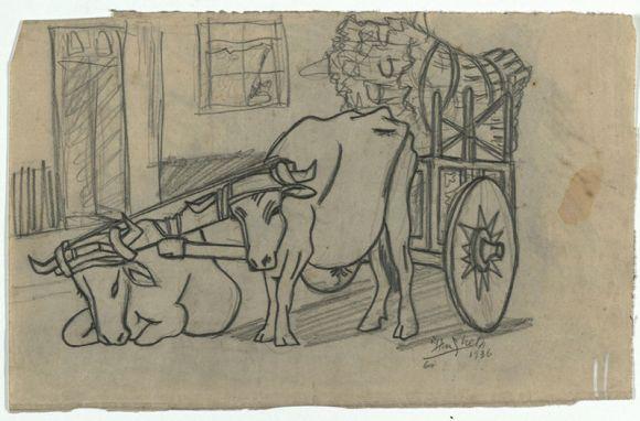 Dibujo-Francisco-Amighetti-MuseoUCRLaura-LN_LNCIMA20130929_0045_5