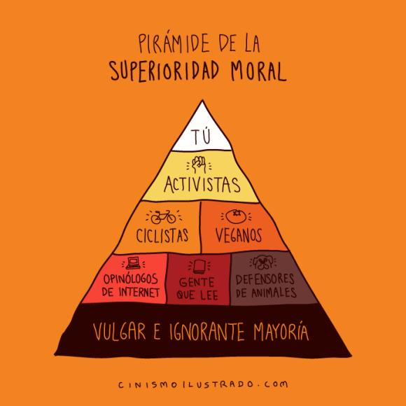 superioridad moral